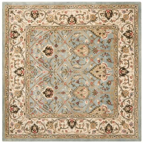 Safavieh Persian Legend Gray Ivory 6 Ft X 6 Ft Square 6 X 6 Area Rugs