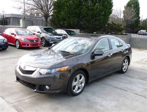 buy used 2010 acura tsx sportshift paddles homelink in