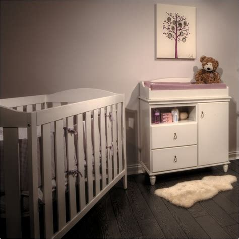 White Cribs With Changing Table South Shore Moonlight Changing Table White Crib Set