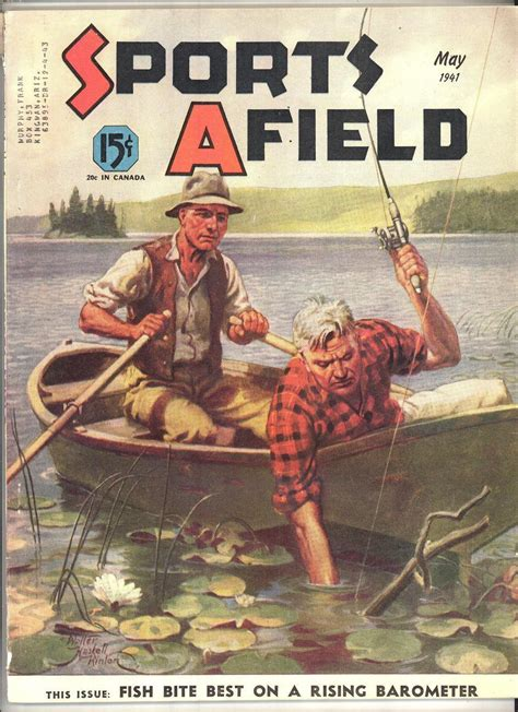 flansel the fisherman books sports afield magazine may 1941 hinton and 50 similar items