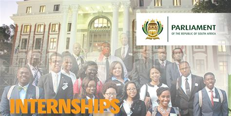 Mba Internships South Africa by Republic Of South Africa Parliament Internships 2018 For