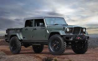 Jeep Gladiator Concept 2018 Jeep Gladiator Specs And Release Date All Cars 2017