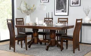 Pictures Of Wooden Dining Tables And Chairs Chatsworth Extending Wood Dining Table And 4 Java Chairs Set Only 163 499 99 Furniture Choice