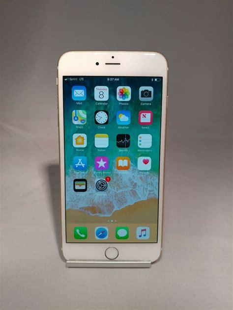 t iphone 6 plus apple iphone 6 plus 128gb gold at t unlocked warranty 646117873412 ebay