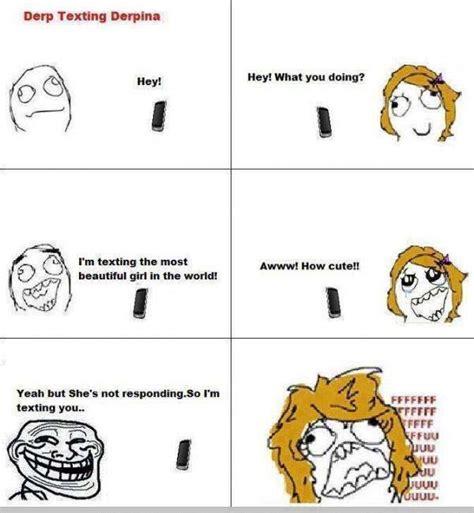 Derp Meme Pictures - derp texting derpina funny pictures quotes memes jokes
