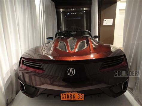acura supercar avengers the avengers tony stark car images collider