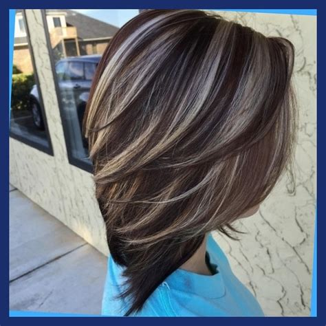 foil highlights for brown hair 12 brilliant blonde foils on dark brown hair about haircut