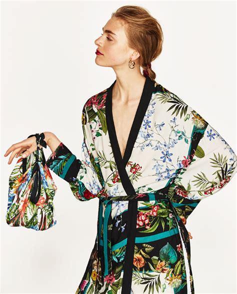 Atasan Kimono Zara Flower Line zara archives dresscodes