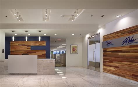 Check Out This Clean And Contemporary Lobby Designed By Corporate Interior Design