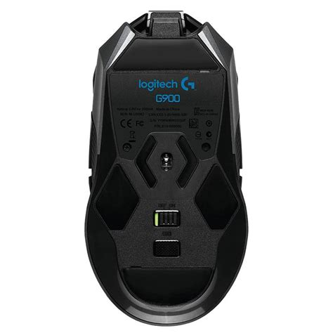 Logitech G900 Chaos Spectrum Pro Gaming Mouse Terlaris logitech g900 chaos spectrum professional grade rgb wired wireless gaming mouse 910 004609