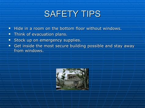 Safe Room Floor Plans shanes hurricane power point