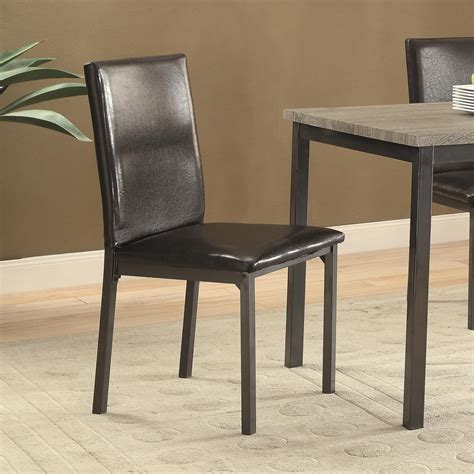 Value City Furniture East Brunswick Nj by Coaster Garza Upholstered Dining Chair With Back Value City Furniture Dining Side Chairs