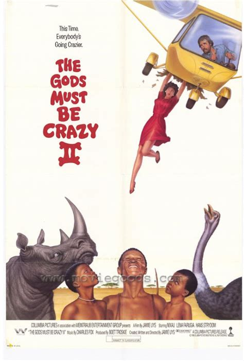 along with the gods sub the gods must be crazy ii 1989 movie sites