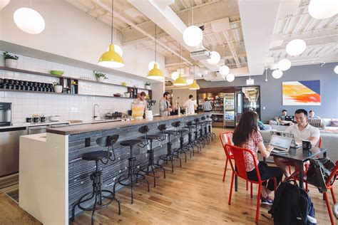 Shared Kitchen Space Chicago by A Tour Of Wework S New Chicago Coworking Space Officelovin