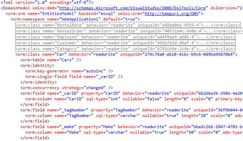xml layout to code xml mapping