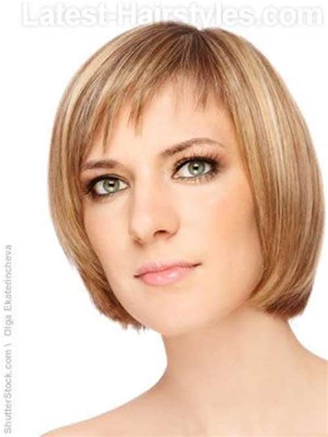 Medium Hairstyles For Thin Hair With Bangs by Bob Hairstyles With Bangs For Thin Hair The Best