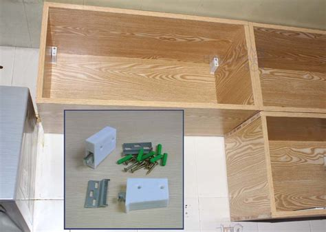 mounting kitchen cabinets hanging rail kitchen cabinet cupboard wall mounting