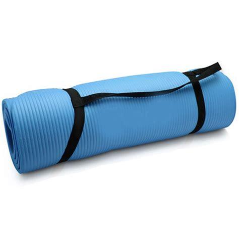 Mat 10mm Blue aok aok pilates mat 10mm sky blue sports fitness and