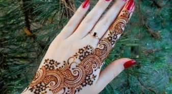 simple arabic mehndi designs for hands step by step easy