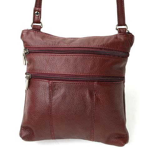 womens crossbody bags c womens leather crossbody organizer bag purse phone pocket