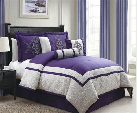 28 best purple and brown comforter set 7 piece king