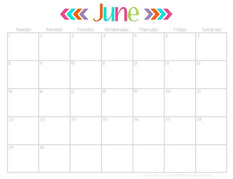 Calendar For June June 2017 Calendar Calendar Printable Free
