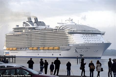 titanic vs big boat massive cruise liners each spew out as much sulphurous