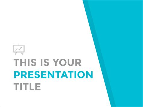 template presentation free presentation template simple and professional