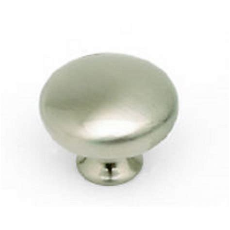 Brushed Nickel Knobs Buy Kitchen Cupboard Cabinet Door Button Knob In Brushed