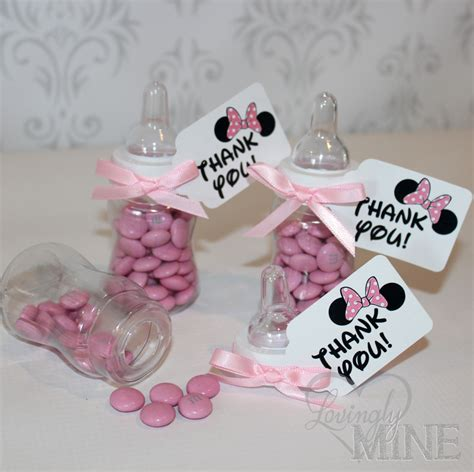 Baby Shower Minnie Mouse by Minnie Mouse Inspired Baby Shower Favors Plastic By