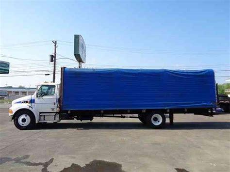 curtain side box truck sterling acterra 2005 van box trucks