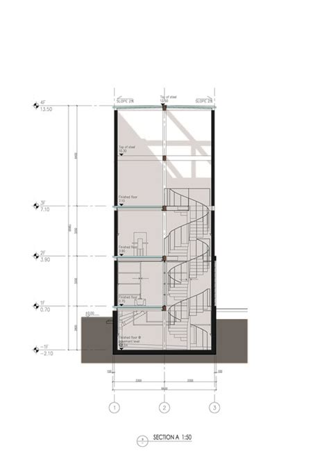 section 8 glasses vertical glass house atelier fcjz archdaily