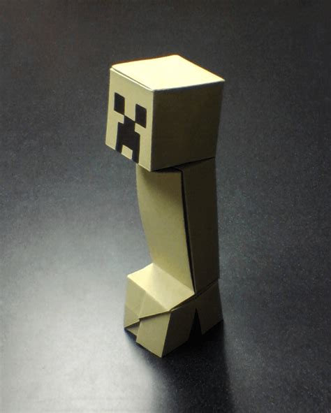 Origami Creeper - tekken metal gear minecraft and more amazing