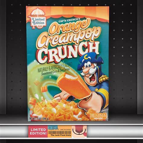 orange creampop crunch  junk food aisle