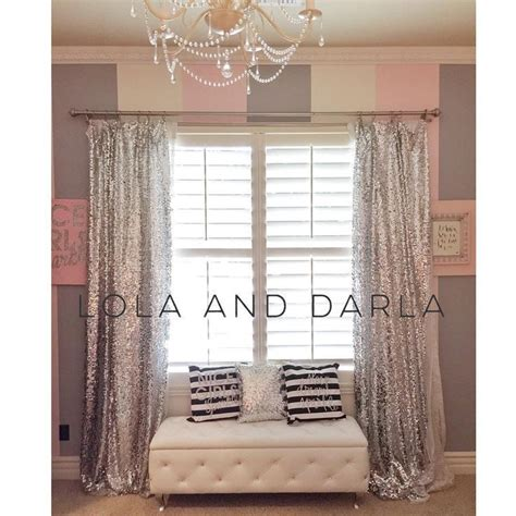 silver sparkle curtains best 25 silver curtains ideas on pinterest luxury