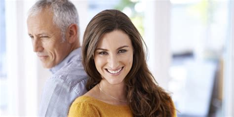 Realities of dating an older man advice