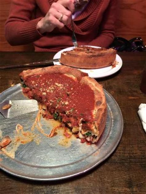 Chicago Deep Dish Pizza Picture Of Carmines Pie House Jacksonville Tripadvisor
