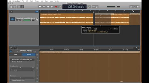 Garageband Undo Delete Editing Audio With Garageband Cutting And Exporting