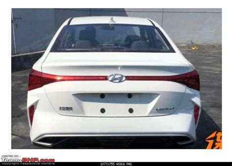 Hyundai Verna 2020 Launch Date by 2020 Hyundai Verna Facelift Spotted In China Team Bhp