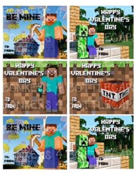 Minecraft Valentine S Day Cards - minecraft valentines on pinterest