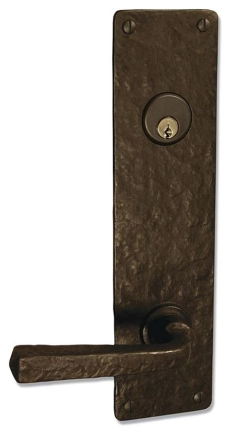 Rustic Front Door Hardware Coastal Bronze 120 Series Solid Bronze Tubular Latch Bolt Door Entry Set Lar Rustic