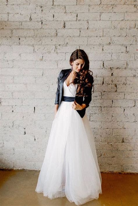 nontraditional bridesmaid chagne and blue 29 non traditional fall wedding dresses for the modern