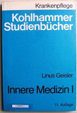 innere medizin buch kohlhammer studienb 252 cher innere medizin i linus
