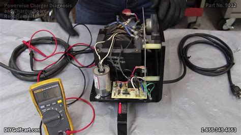 powerwise golf cart charger troubleshooting powerwise charger board and diagnostic how to repair or