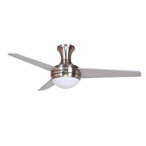 48 aislee 3 blade ceiling fan with remote y decor aislee 48 in brushed nickel ceiling fan aislee bn