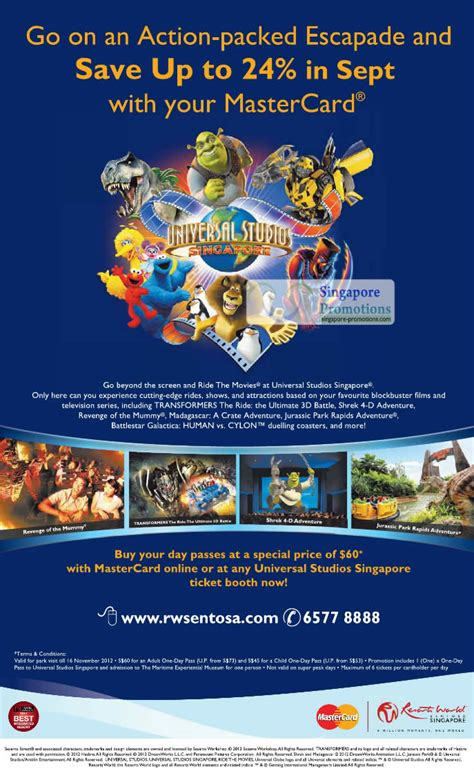 Universal Studios Gift Cards - universal studios up to 24 off for mastercard cardmembers 2 sep 2012