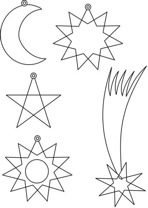 plantillas de estrellas de navidad para imprimir plantillas estrellas navidad dibujalia dibujos para colorear navidad plantillas