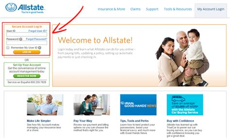 Allstate Insurance Login In