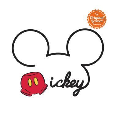 Jual Lu Tidur Mickey Mouse jual mickey mouse all about mickey wall decal