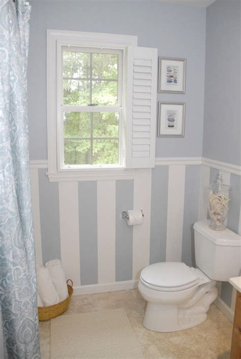 small bathroom window treatments 25 best ideas about striped bathroom walls on pinterest